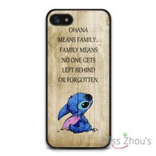 Hakuna Means Family Quote Protector back skins mobile cellphone cases for iphone 4/4s 5/5s 5c SE 6/6s plus ipod touch 4/5/6