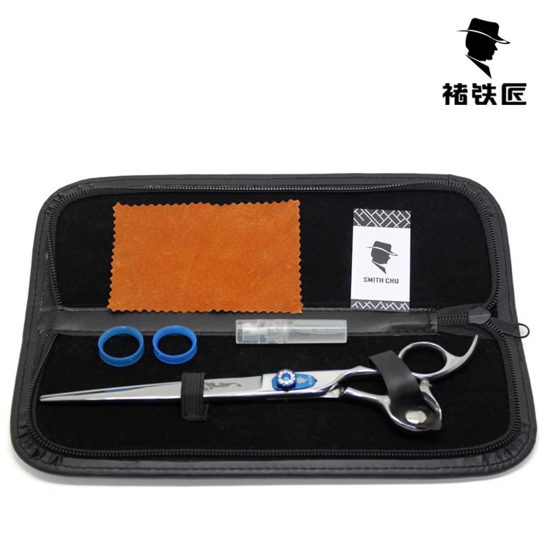 Blue screw pet scissors beauty scissors lajtai dog wool 6 repair set 8<br><br>Aliexpress