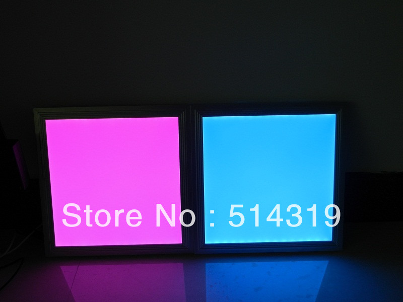 2 years warranty good price LED light panel RGB 300x600mm 16W 66pcs SMD5050 super bright colorful Fedex free shipping(China (Mainland))