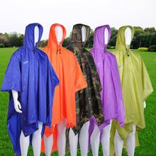 New Three-in-one Raincoat Multifunctional Backpack Poncho Motorcycle Raincoat Rainwear Climbing Rain Coat Impermeable 5 colors(China (Mainland))