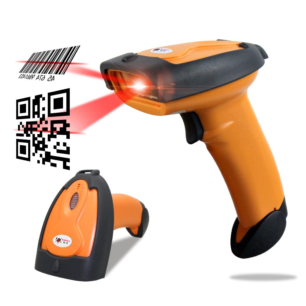 Handheld Laser 2d Barcode Scanner Usb Qr Code Reader