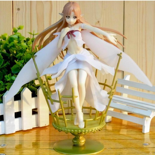NIB Sword Art Online Asuka Fairy Queen theme PVC 1/8 22cm big Figure in Box(China (Mainland))