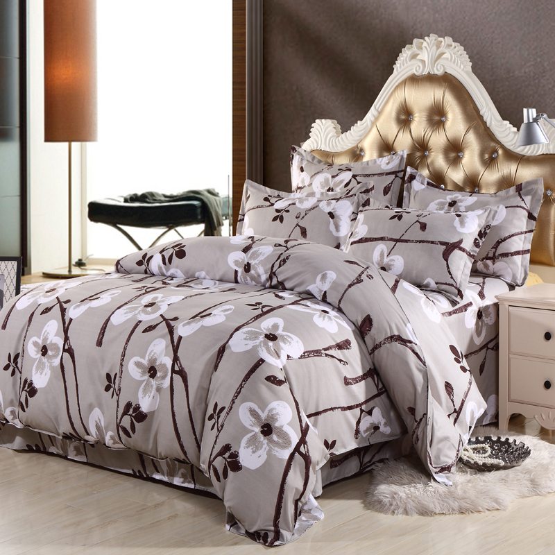 2015 new hot free shipping 68 types 4pcs bedding sets for Types of bed covers