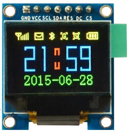 0.95 inch 7PIN Full Color OLED Module SSD1331 Drive IC 96*64 SPI Interface(China (Mainland))