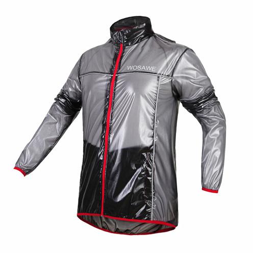 Cycling Rain Jacket WOSAWE Men Women Wear Riding Breathable Reflective Wind Rain Coat Bicycle Bike Waterprood Jersey(China (Mainland))