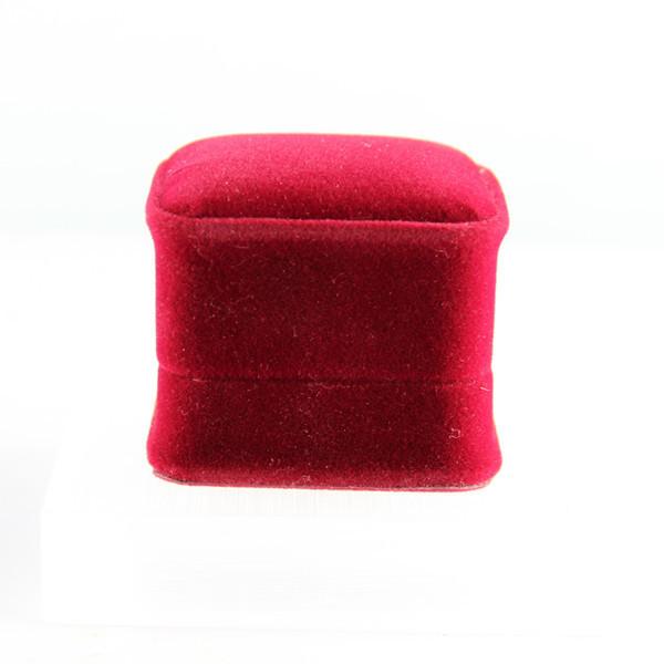 Exquisite quality velvet ring box jewelry box