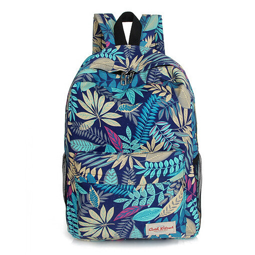 Hot Fashion Preppy Style Printing Designer Women Backpack Canvas Bolsas Feminina Casual Students