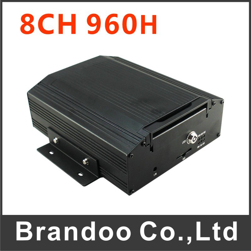Inexpensive 8 channel real time recording CAR DVR, suit for shuttle bus, school bus, urban bus(China (Mainland))