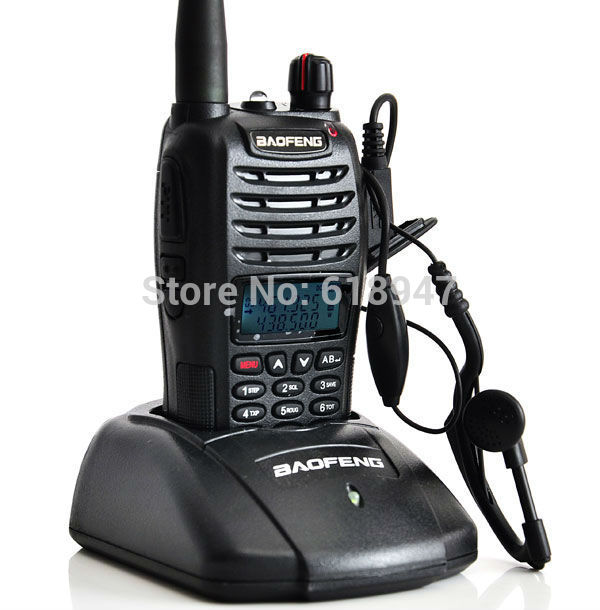 2013 Baofeng UV-B6 Dual Band VHF UHF 5W 99 Channels FM A1012A PMR Portable Two-way Radio(China (Mainland))