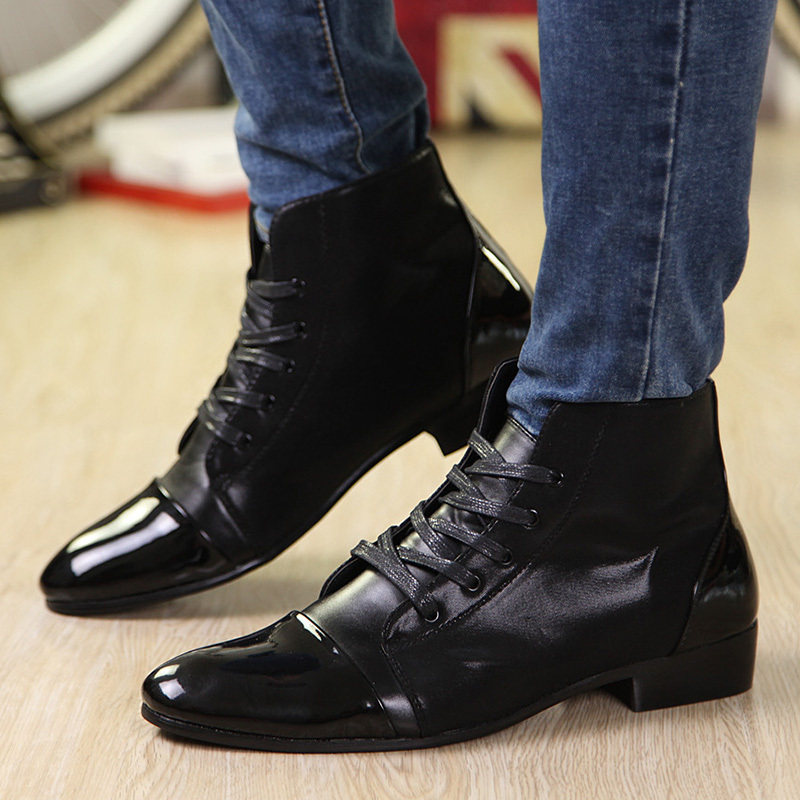 Waterproof Dress Boots For Men - Boot Hto