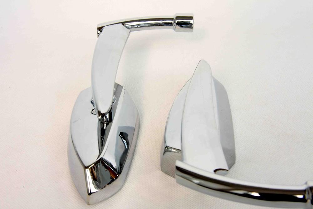 For Motorcycle Suzuki Intruder Volusia Boulevard CHROME Spear Blade rearview mirrors