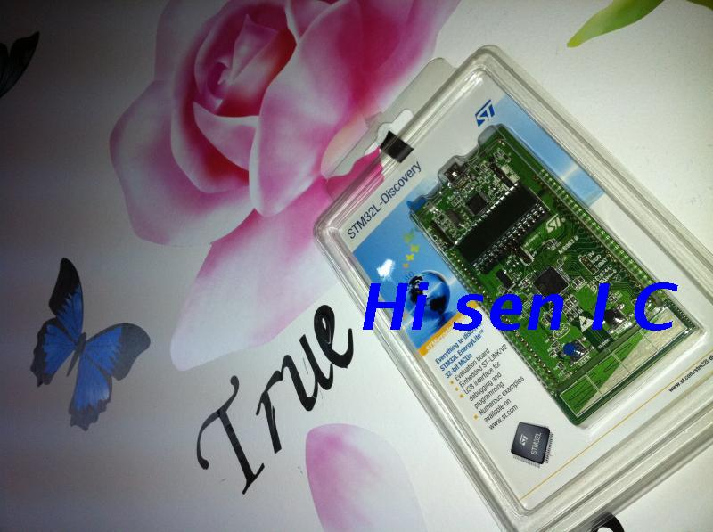 Free shipping 5PCS Spot STM32L-DISCOVERY send line STM32L152RBT6 low- ARM development board(China (Mainland))