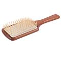 Hot sale African Mahogany massage airbag wood Needle comb Magic HairBrush Comb Antistatic Detangling wooden combs