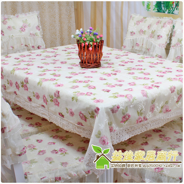 Flower fairy series rustic cloth dining table cloth table cloth tablecloth