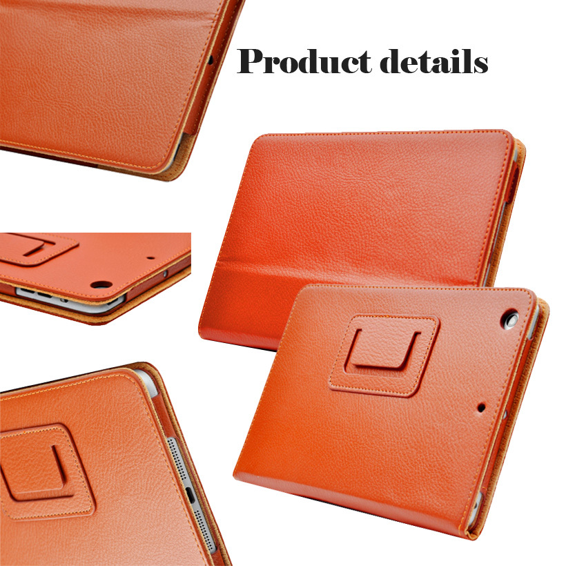 For Apple ipad 2 3 4 Magnetic Auto Wake Up Sleep Flip Litchi Leather Case For