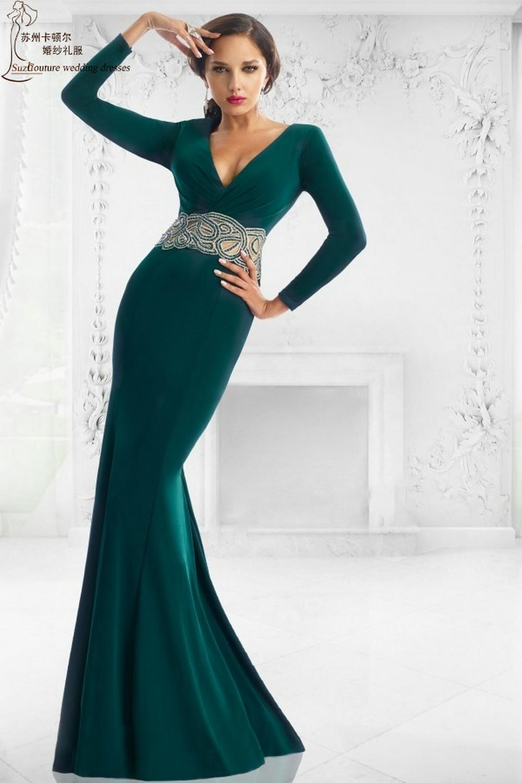 Emerald Green Dress Long Sleeve Wroc Awski Informator
