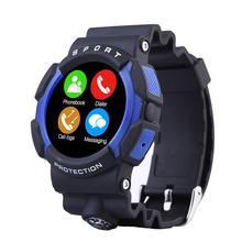 A10 водонепроницаемый спорт на открытом воздухе смарт-чехол часы с компасом приключения Bluetooth Smartwatch носимых устройств для Apple , IOS