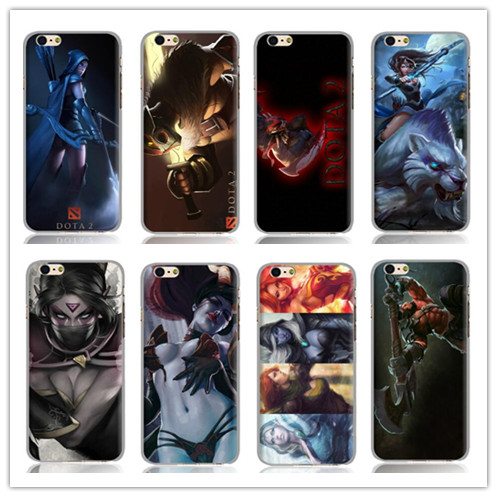 2015 Hot New dota 2 game white hard Back Case Cover for Iphone 6 6s 4.7 inch Free shipping(China (Mainland))