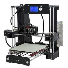 2016 Latest Cheap High Quality Full Acrylic Frame Anet A6 3D Printer Kit Reprap Prusa i3
