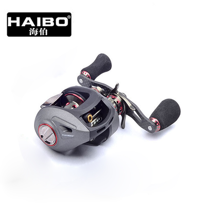 Haibo Smart 2 151cs 151 51 50 51hmcs 51cs 12BB+1RB Baitcast Boat Gear Spool Jigging Cast Bait Casting Baitcasting Fishing Reel(China (Mainland))