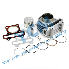 Cylinder Kit for GY6 50cc Scooter Engine 39mm with Piston Kit Moped 4 stroke 1P39QMB Wholesale Scooter Parts YCM