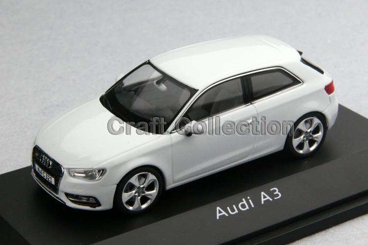 White Schuco 1:43 Car Model Audi A3 2012 SUV Diecast Model Car Classic Toys Car Replica(China (Mainland))