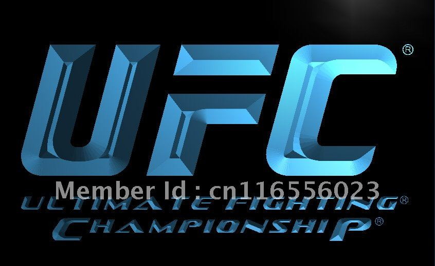 LD346- UFC Ultimate Fight Championship LED Neon Light Sign home decor crafts(China (Mainland))