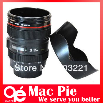 Free shipping 1:1 Coffee tea camera cup lens mug with orginal logo cups & mugs Drop shipping