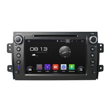 HD1024*600 Quad Core 1.6G CPU 16GB Android 5.1 Car DVD Player Radio GPS Navi Stereo for SUZUKI SX4 2006 2007 2008 2009 2010-2012