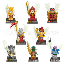 Wholesale DLP9017 Building Blocks Super Heroes Ninja Minifigures Star Wars Ninja Minifigures Bricks Mini Figures Toys