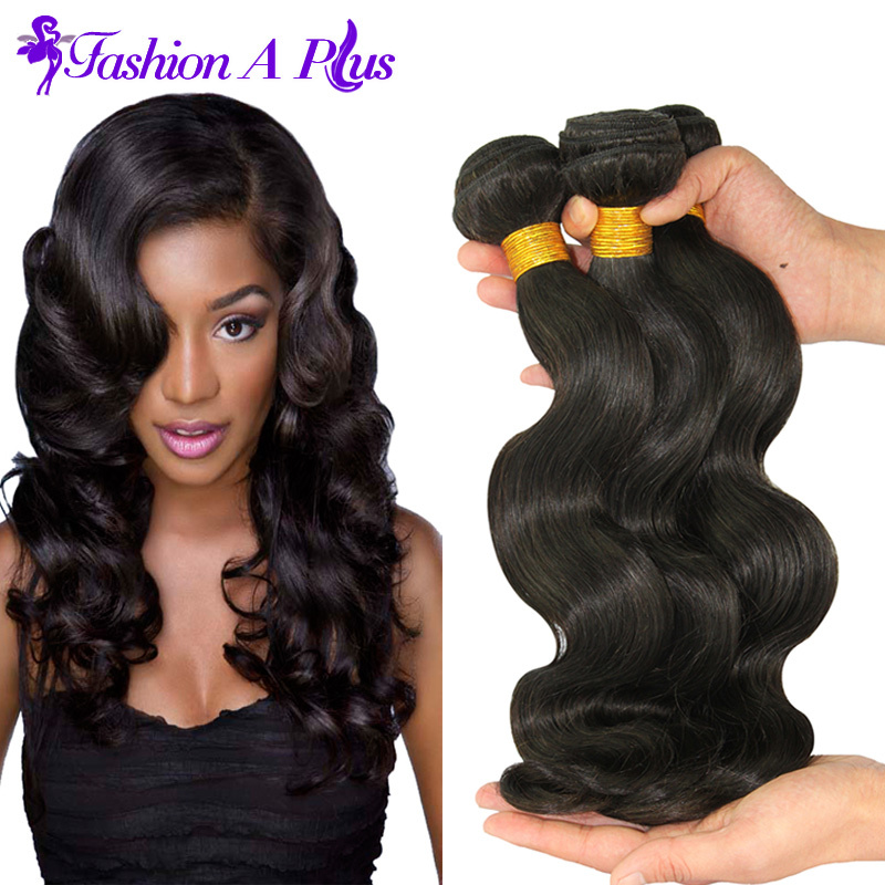 Brazilian Virgin Hair Body Wave Soft Human Hair Extension 3pcs Unprocessed Virgin Brazilian Hair Weave bundles Human Hair Weaves(China (Mainland))