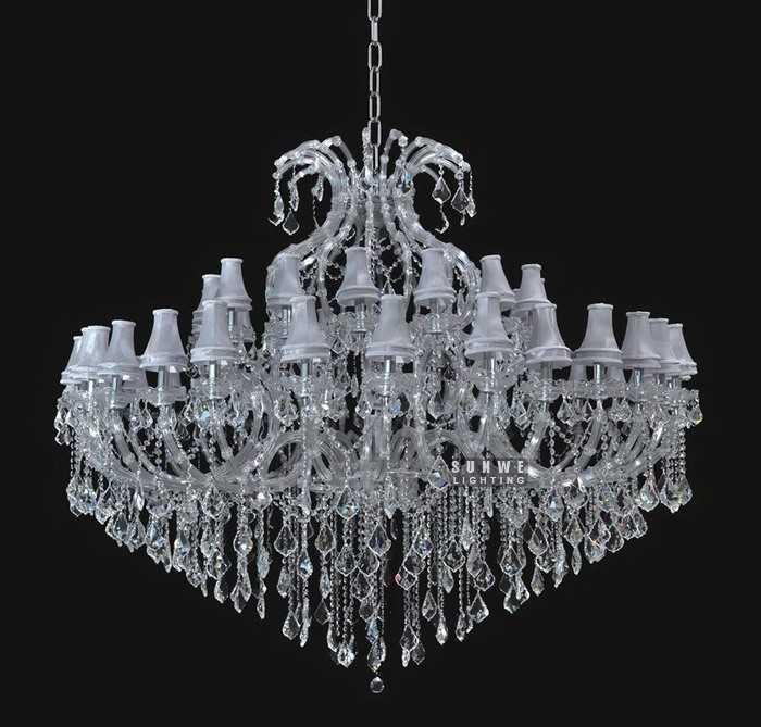 crystal chandelier lamp crystal drop chandelier chandelier with shades. Black Bedroom Furniture Sets. Home Design Ideas