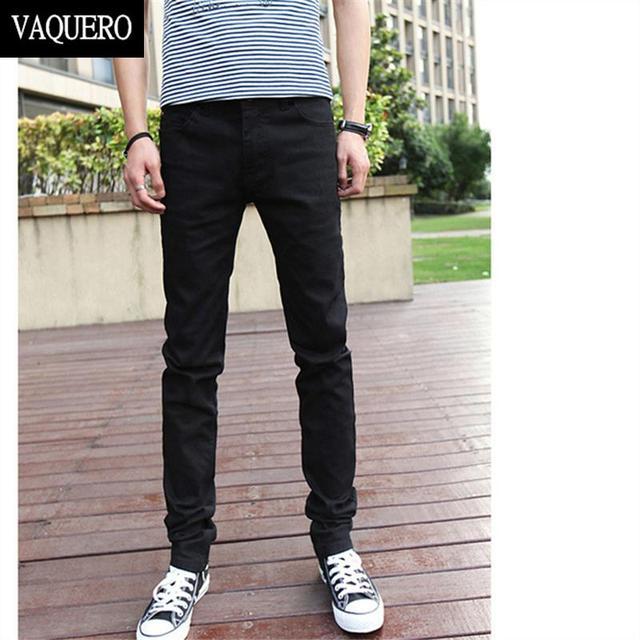 Основные стили мужские джинсы классический черный джинсовые мужские брюки свободного ...