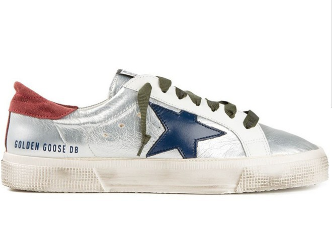 Italy Luxury Brand Golden Goose Men Casual Shoes Genuine Leather Silver GGDB Man Shoes Women Scarpe Donna Zapatillas Mujer