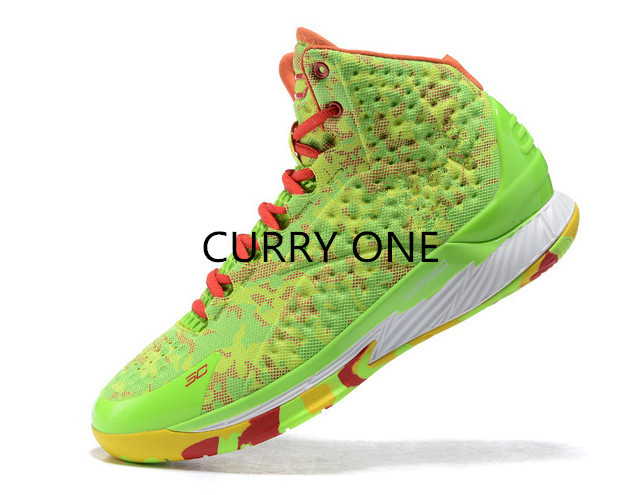 Crazy Sale 2015 Handsome Quality Stephen Curry one 1.0 UAing Clutch fit Drive basketball shoes Fast Delivery(China (Mainland))