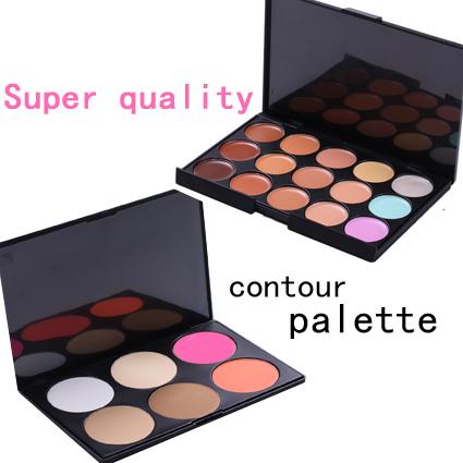 Super quality makeup concealer maquiagem maquillaje contour palette primer corretivo paleta de corretivo concealer palette(China (Mainland))