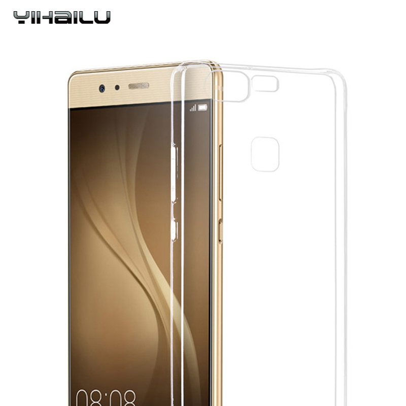 Yihailu Brand Phone Cases For Huawei P9 Soft TPU Case For P9 Lite Flexible Slim Crystal Clear Transparent Back Cover For P9 Plus(China (Mainland))