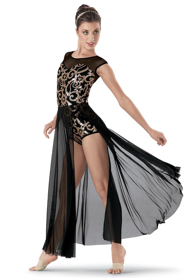 Modern ballet dance skirt dress performance clothing new children s