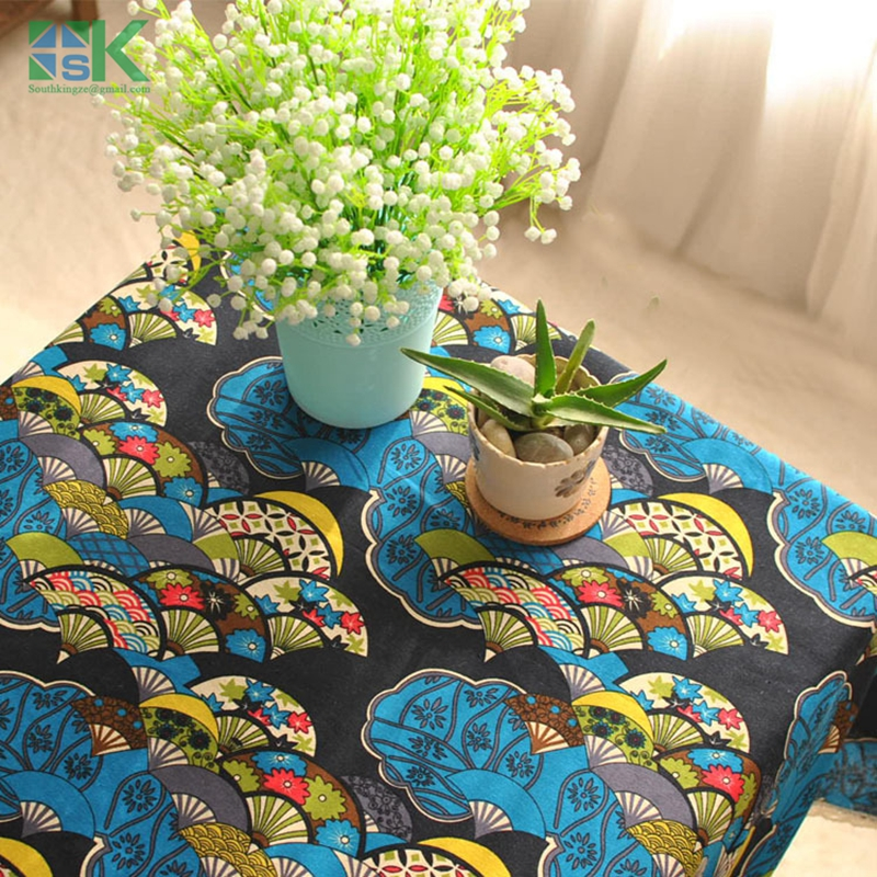 Home decors new Export Japanese wind classical tradition lace table linen tablecloth towel(China (Mainland))