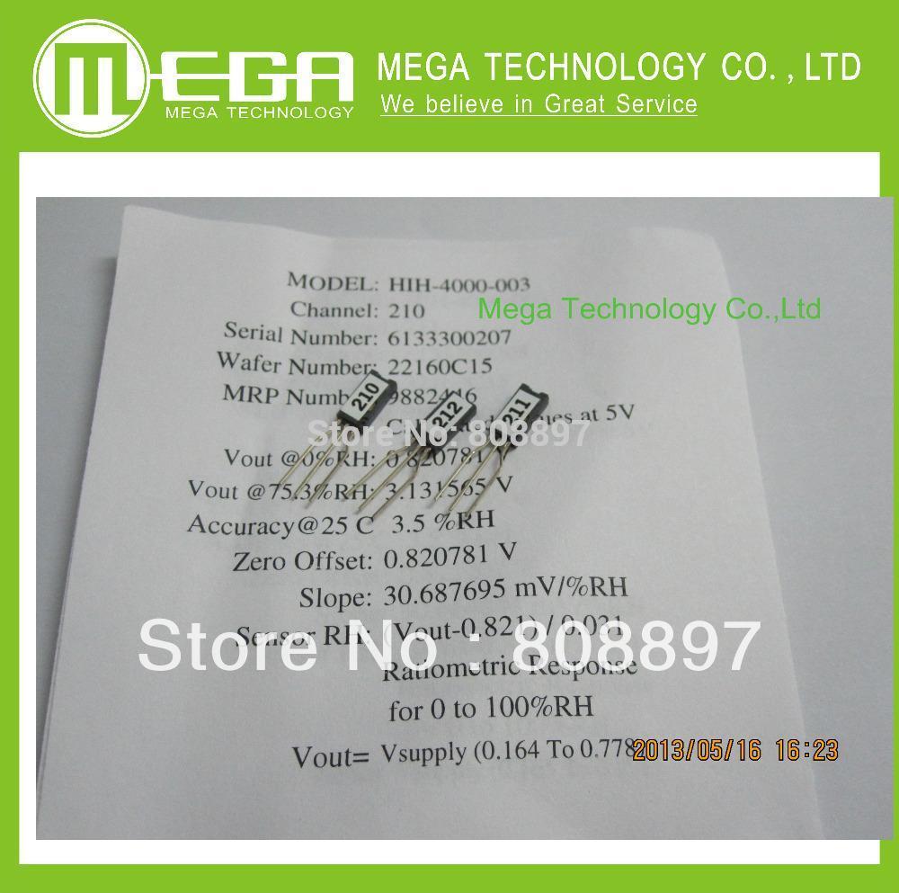 1pcs,Honeywell Humidity Sensors HIH4000 SIP Full parts NO. HIH4000-003(China (Mainland))