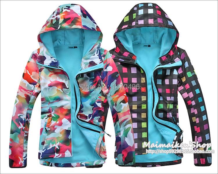 2015 GSOU 8K softshell chaqueta mujer & 2015 softshell 003