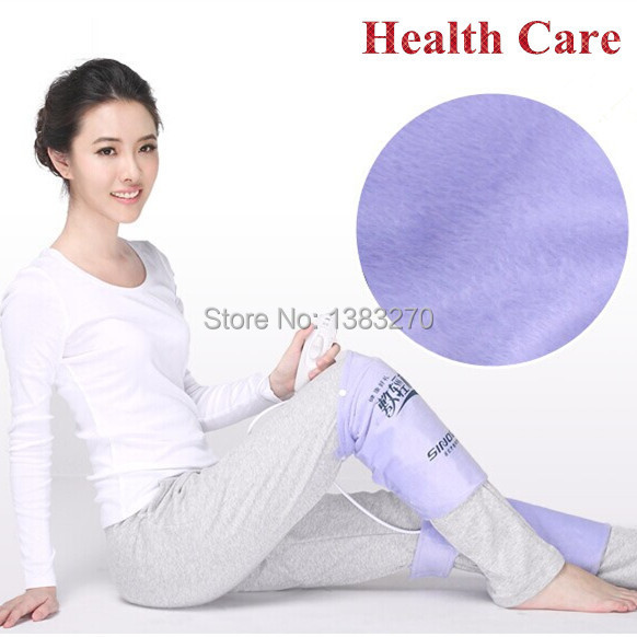 A pair heated mat heating pad electric heat pad foot body warmer leg hot pack therapy knee pain(China (Mainland))