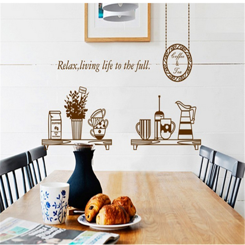 Cocina decoracion del gabinete compra lotes baratos de for Kitchen cabinets lowes with modern wall art stickers
