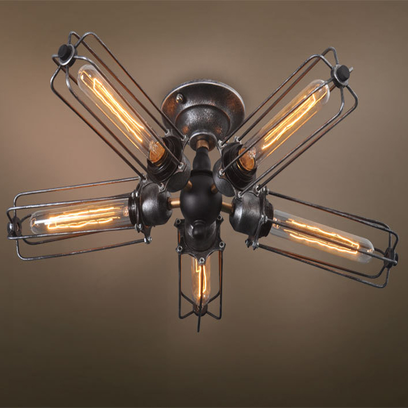caged ceiling fan buy cheap caged ceiling fan lots from china caged. Black Bedroom Furniture Sets. Home Design Ideas