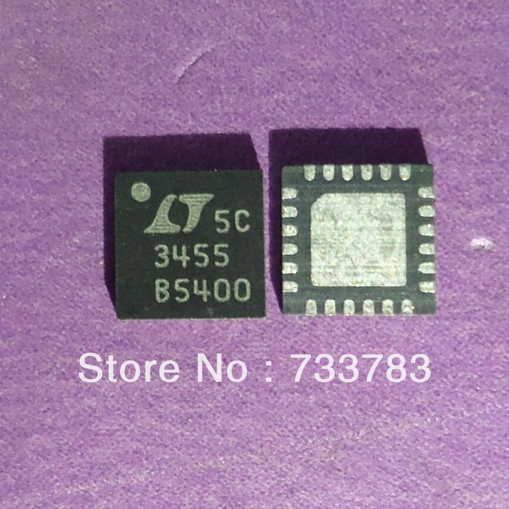 LTC3455 3455 ,Dual DC/DC Converter with USB Power Manager and Li-Ion Battery Charger(China (Mainland))