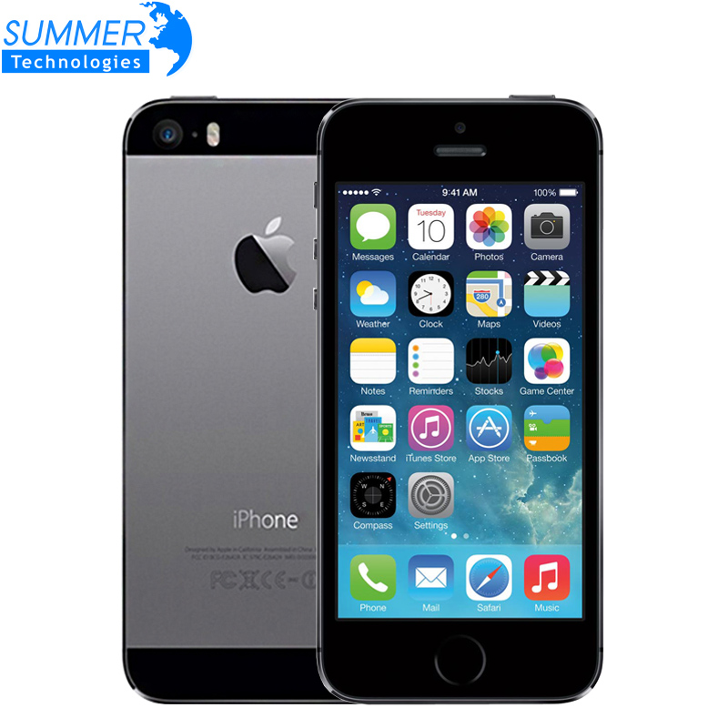 "Original Unlocked Apple iPhone 5S Cell Phones iOS 8 A7 4.0"" IPS HD GPS 8MP 16GB 32GB ROM Used Mobile Phone iPhone5s(China (Mainland))"