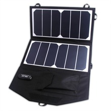 Portable Solar Charger 13W Sunpower Foldable Solar Panel USB Output Waterproof Solar Rechargeable for Iphone/Ipad(China (Mainland))