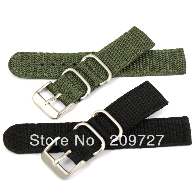 Canvas Strap Watch Watch Band Military Strap