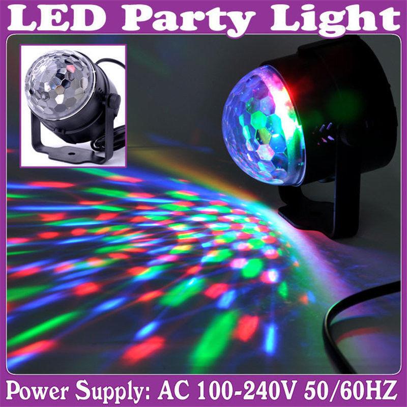 2015 Magic Ball Laser Projector Dmx Controller Led Small Stage Light Lamp Colorful Mini Ktv Wall Sound DJ Lights US plug - SNS TECH CO.,LTD store