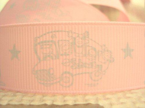 50Y14447 david ribbon 7/8 '' school bus study star grosgrain ribbon hairbows printed ribbon freeshipping(China (Mainland))
